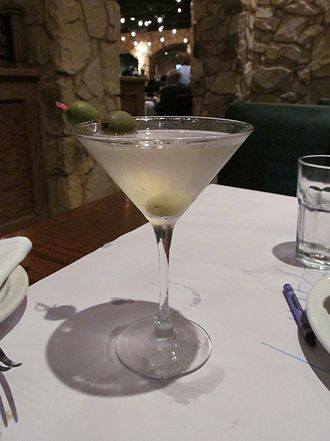 Vodka Martini - A vodka Martini