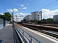Voies de la gare d'Epinay-Villetaneuse vues depuis la correspondance avec le T11 Express.jpg