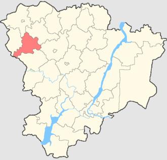 Alexeyevsky District, Volgograd Oblast - Image: Volgogradskaya oblast Alexeevsky rayon