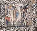 Volubilis mosaic Diana and her nymph.jpg