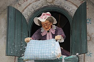 Frau Holle - Frau Holle in the Efteling