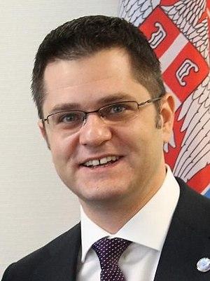 Serbian presidential election, 2017 - Image: Vuk Jeremić Crop
