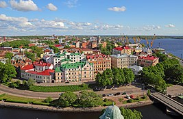 Vyborg June2012 View from Olaf Tower 05.jpg