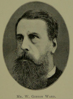 W. Gibson Ward English vegetarianism activist