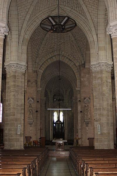 Nef de l'église Saint-Simplicien, XII°, XIII°, XV°, XVII°, XIX°, Fr-49-Martigné-Briand.