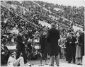 """WPA, """"LSU Stadium Dedication, Hopkins speaking (back)"""" - NARA - 195772.tif"""