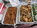 WWOZ Drive Food Jambalaya Chicken Crabby Jacks.JPG