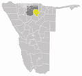 Wahlkreis Guinas in Oshikoto.png