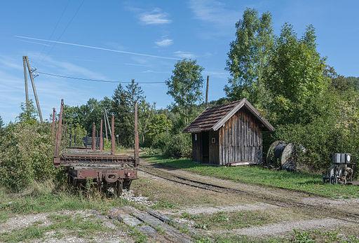 Waldneukirchen Steyrtalbahn Haltestelle 09 2015