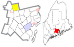Waldo County Maine Incorporated Areas Troy Highlighted.png