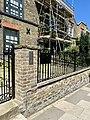 Walls to 35 Flask Walk, Hampstead, June 2021.jpg
