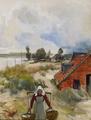 Walter Moras - Fischerdorf an der Ostsee.png