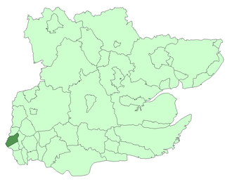 Municipal Borough of Walthamstow - Walthamstow within Essex in 1961