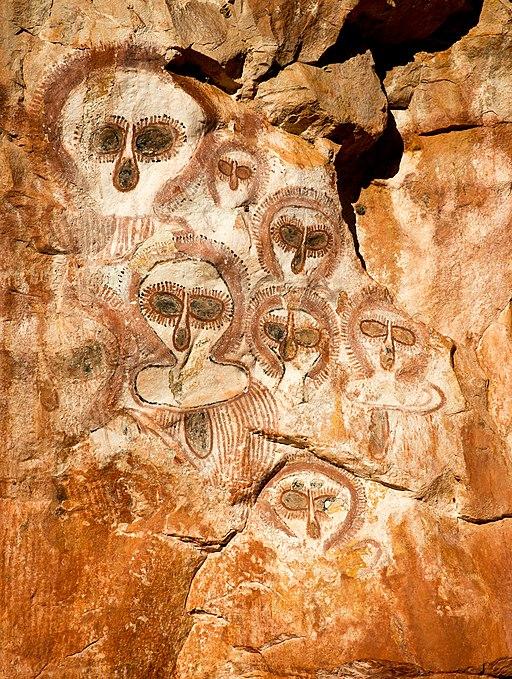Indigenous Australian Rock Art - Wandjina Style