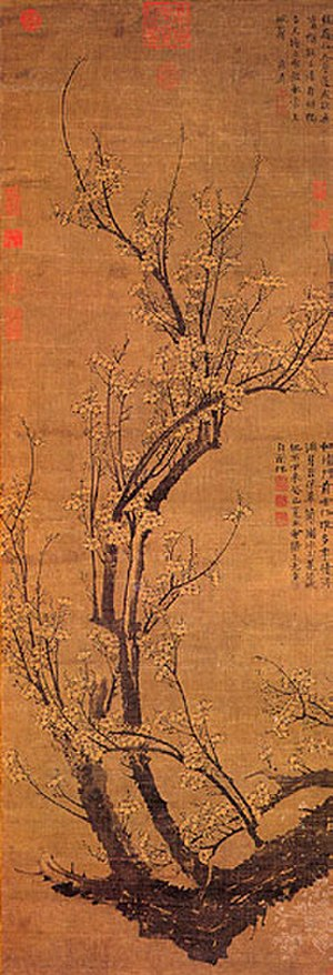 Wang Mian - Image: Wang Mian, Plum Blossoms in Early Spring