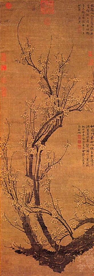 Wang Mian - Image: Wang Mian, Plum Blossoms in Early Spring