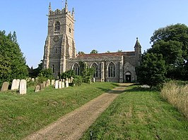 Wangford (nr Southwold, Suffolk) SS Peter and St Paul's Church - geograph.org.uk - 68607.jpg