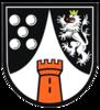 Former city arms of Bad Münster am Stein-Ebernburg