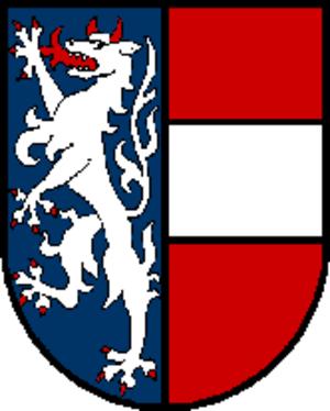 Garsten - Image: Wappen at garsten