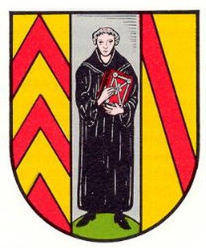 Münchweiler an der Rodalb - Image: Wappen muenchweiler rodalb