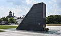 Warsaw – Monument to the victims of 2010 Smolensk air crash, 2019a.jpg