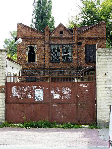 Friche industrielle rue Strzelecka 30/32 à Praga - Photo de Przemyslaw Jahr