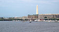 Washington DC - from Potomac River looking north - 2010-09-16.jpg