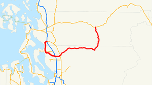 Washington State Route 530 - Image: Washington State Route 530 (1983 1991)