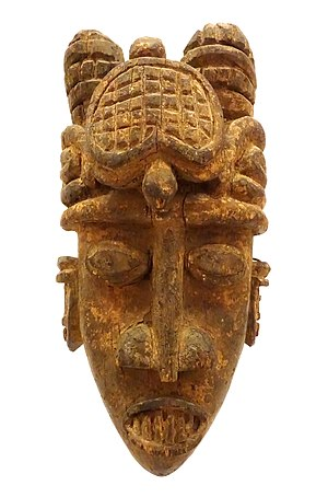 Kalabari tribe - Water spirit head crest (pipligbo)