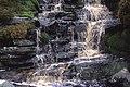 Waterfall at head of Tarnbrook Wyre - geograph.org.uk - 970114.jpg