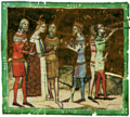 Wedding of Charles I and Elizabeth (Chronicon Pictum) (detail).png