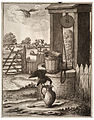 Wenceslas Hollar - The crow and the pitcher (State 1).jpg