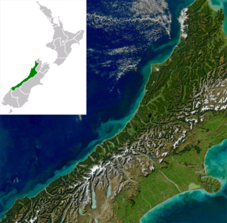 West Coast, New Zealand Region in South Island, New Zealand
