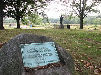 West River (Connecticut) - West River Memorial Park.