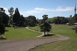 Freemans Bay - Lower Western Park.