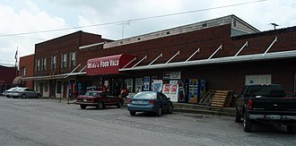 Westmoreland, Tennessee - Image: Westmoreland tennessee business district 2009
