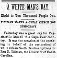 White Man's Day Fayetteville Observer 10 22 1898.jpg