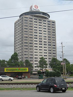 East Memphis, Memphis, Tennessee - Image: White Station Tower Memphis TN