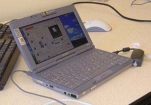 A look at the laptop and application used to c...