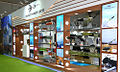 Wide variety of missiles on display at BDL stall at Defexpo 2016.jpg