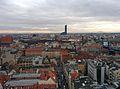 Widok z wieży widokowej Bazyliki Mniejszej p.w. św. Elżbiety we Wrocławiu.jpg
