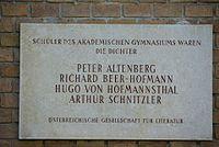 Wien01 Beethovenplatz001 2017-04-30 GuentherZ GD Altenberg+Beer-Hofmann+Hofmannsthal+Schnitzler 1419.jpg