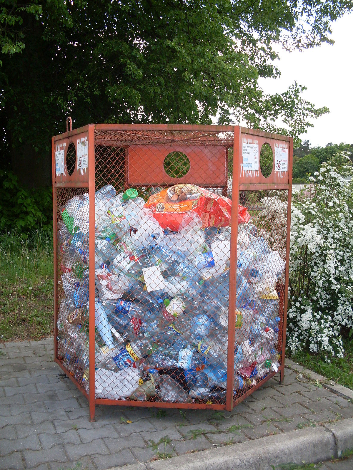 Plastic recycling - Wikipedia