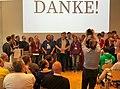 WikiCon Abschlussfeier Helferteam.jpg