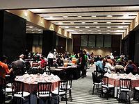 Wikimanía 2015 - Day 3 - Breakfast - LMM - México.jpg