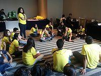 Wikimania 2015-Thursday-Volunteers (5).jpg