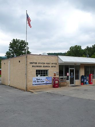 Wildwood, Georgia - U.S. Post Office in Wildwood, Georgia.
