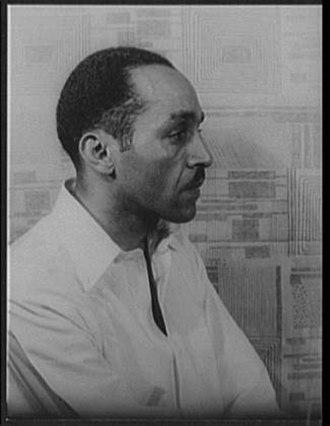 Willard Motley - Portrait of Motley by Carl Van Vechten, 1947.