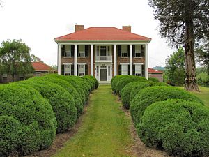 National Register of Historic Places listings in Grainger County, Tennessee - Image: William Cocke House tn 1