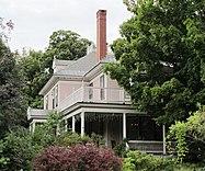 William A. Hall House,1 Hapgood Street, Bellows Falls VT